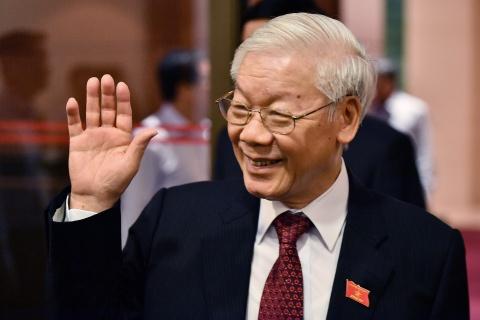 Tong bi thu, Chu tich nuoc du hoi nghi Chinh phu voi dia phuong hinh anh