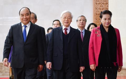 Tong bi thu, Chu tich nuoc: 2019 phai hon 2018 tren tat ca phuong dien hinh anh