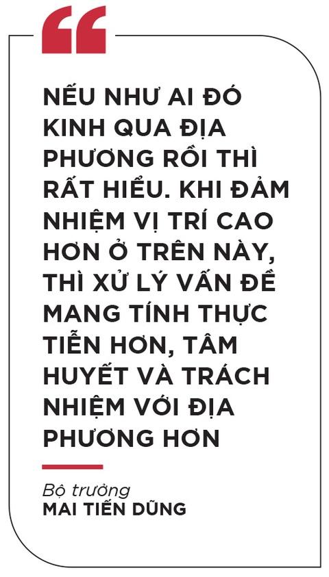 Bo truong Mai Tien Dung: 'De but pha thi luon phai tao ap luc moi' hinh anh 12