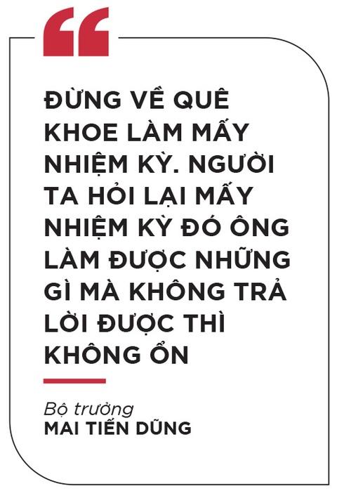 Bo truong Mai Tien Dung: 'De but pha thi luon phai tao ap luc moi' hinh anh 14