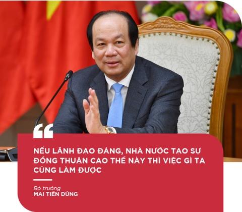 Bo truong Mai Tien Dung: 'De but pha thi luon phai tao ap luc moi' hinh anh 5
