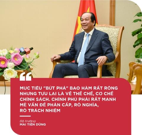 Bo truong Mai Tien Dung: 'De but pha thi luon phai tao ap luc moi' hinh anh 8