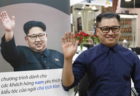Trai nghiem lam 'Kim Jong Un gia' sau 10 phut o Ha Noi hinh anh