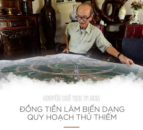 Nguyen chu tich TP.HCM: 'Dong tien lam bien dang quy hoach Thu Thiem' hinh anh 1