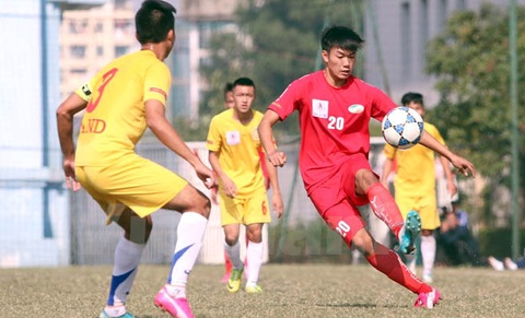 U19 Viettel bi loai khoi VCK U19 Quoc gia hinh anh