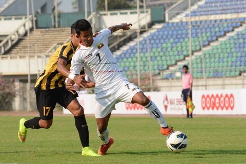 Doi thu chinh cua Olympic VN thua 0-3 truoc U20 Myanmar hinh anh
