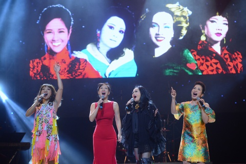 'Bo tu' diva: Nhung goi Lam la chi ca, Linh khen Ha hat hay hinh anh 1