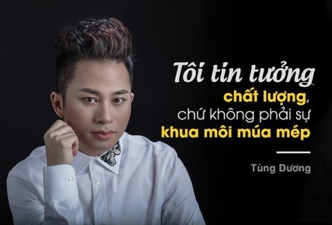 Tung Duong: 'Dung nghi co vai bai hit la lam duoc huan luyen vien' hinh anh