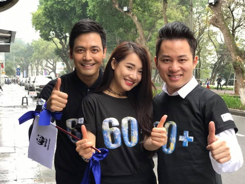 Phan Anh, Nha Phuong doi mua ung ho Gio Trai Dat hinh anh