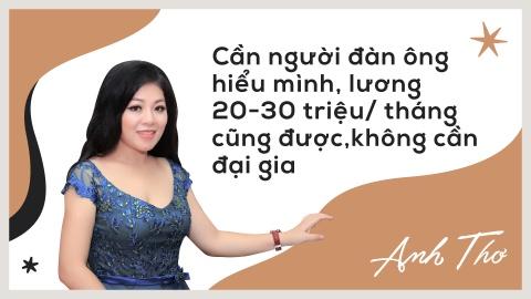 Anh Tho: 'Toi khong hat dam cuoi nhung tien tieu chang het' hinh anh 3