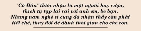 Nghe si Cong Ly: 'Toi hay ruou that nhung khong danh dap vo con' hinh anh 4