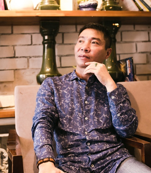 Nghe si Cong Ly: 'Toi hay ruou that nhung khong danh dap vo con' hinh anh 7
