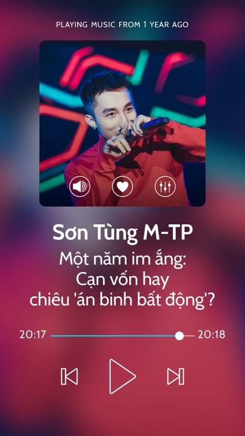 Son Tung va mot nam im ang: Can von hay chieu 'an binh bat dong'? hinh anh 1