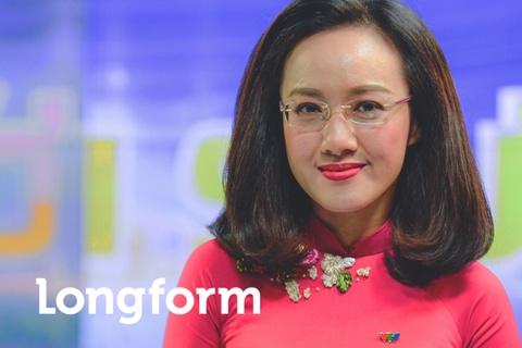 Hoai Anh cua Thoi su VTV: 'Dung, toi la mot bien tap vien giau co' hinh anh