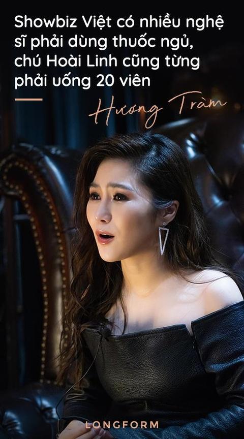 Huong Tram: 'Chu Hoai Linh dua mot vien thuoc ngu, toi khong dam uong' hinh anh 9