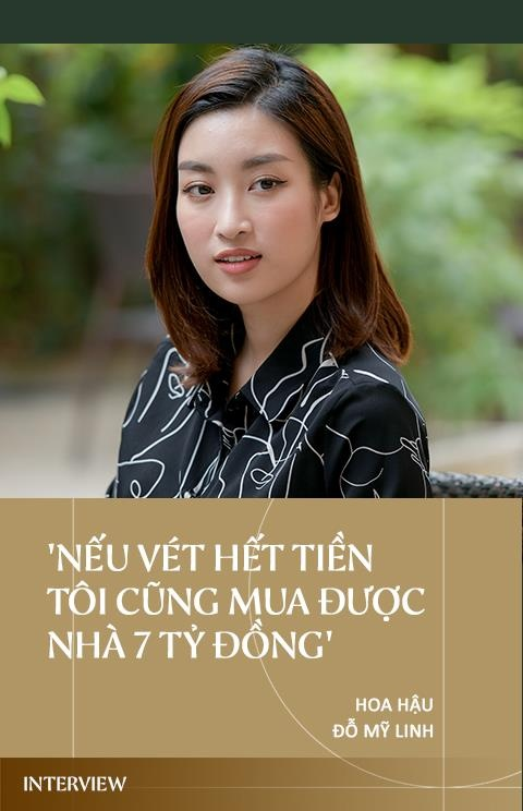 Hoa hau Do My Linh: 'Neu vet het tien toi cung mua duoc nha 7 ty dong' hinh anh 1