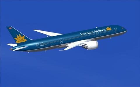 Vietnam Airlines giam 10% gia ve bay noi dia va quoc te hinh anh