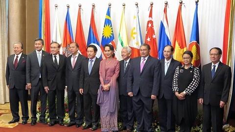 Khai mac Hoi nghi Bo truong ASEAN o Singapore hinh anh