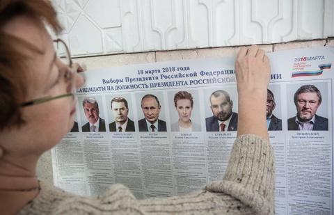 Nuoc Nga 11 mui gio buoc vao ngay bau cu, TT Putin tren da thang lon hinh anh 2