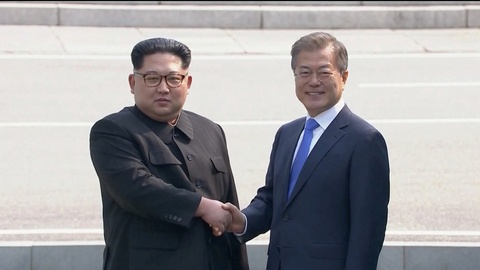 Kim Jong Un chia tay Han Quoc, ket thuc chuyen tham lich su hinh anh