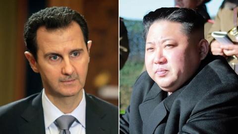 KCNA: Tong thong Syria se den Binh Nhuong gap Kim Jong Un hinh anh