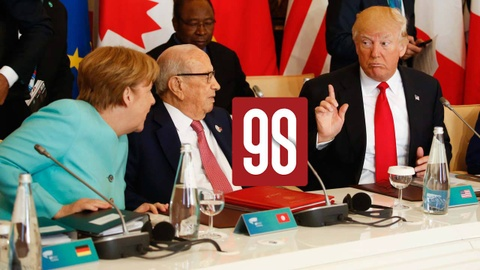 90s: Vi Trump, G7 co nguy co tro thanh 'G6+1' hinh anh