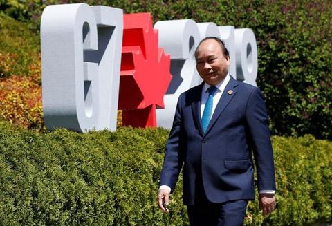 Chuyen tham Canada va du G7 mo rong cua Thu tuong Nguyen Xuan Phuc hinh anh