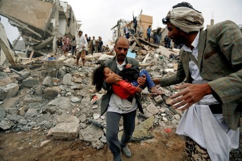 Dat duoc thoa thuan ngung ban cho Yemen giua 'nan doi te nhat lich su' hinh anh