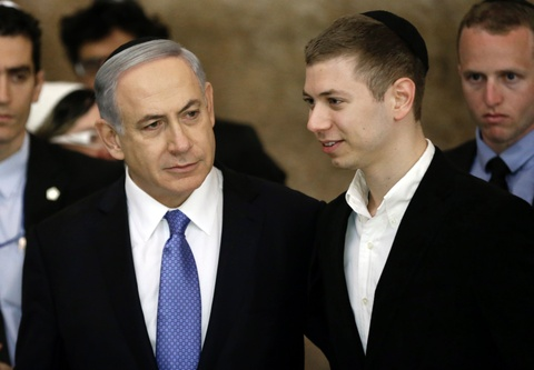 Facebook khóa tài khoản của con trai thủ tướng Israel