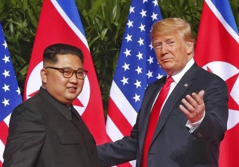 TT Trump va ong Kim Jong Un se gap nhau cuoi thang 2 hinh anh