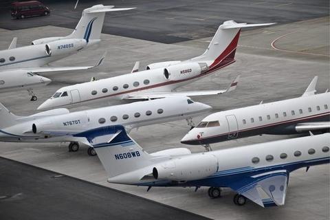 Máy bay riêng nhiều kỷ lục đến Davos dự diễn đàn kinh tế