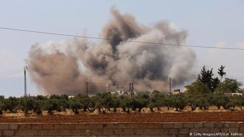 Nhung doan nguoi thao chay khoi 'phao dai' cuoi cung cua IS tai Syria hinh anh 2