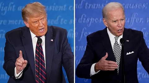 'Tong thong Trump va ong Biden deu co the hai long voi man tranh luan' hinh anh