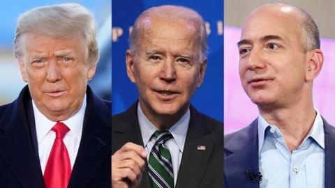 Amazon bo mac ong Trump nhung giup ong Biden? hinh anh