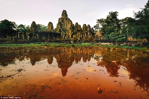 Ve dep ky ao cua khu den phai den mot lan trong doi hinh anh 2 Đền Ta Prohm cổ kính với dấu tích thời gian.