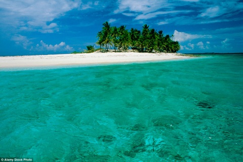 Nhung canh dep khong can chinh sua tren Instagram hinh anh 1 Dẫn đầu danh sách là phong cảnh đẹp như thiên đường của Bahamas với những bãi biển cát vàng và làn nước xanh biếc.