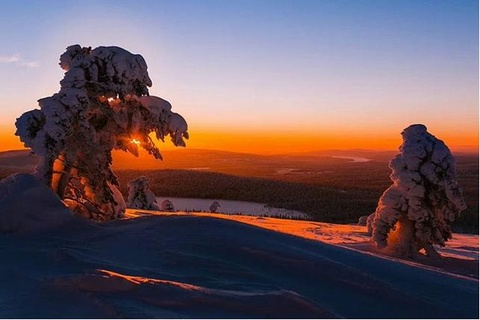 Nhung canh dep khong can chinh sua tren Instagram hinh anh 3 Phần Lan giữ vị trí thứ 3 với những cảnh đẹp được thiên nhiên ưu ái ban tặng.