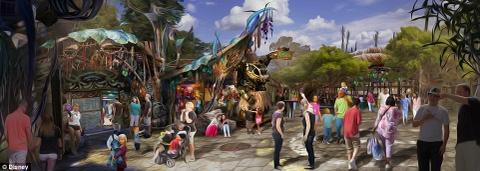 The gioi ky ao Pandora cua 'Avatar' xuat hien o Disneyland hinh anh 4