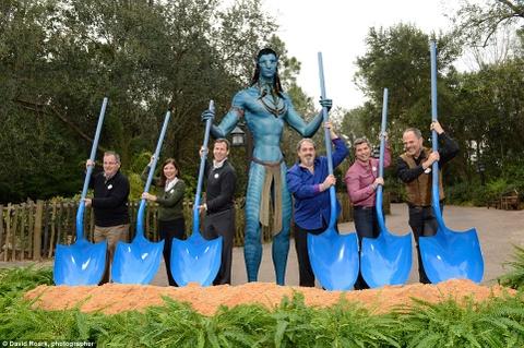 The gioi ky ao Pandora cua 'Avatar' xuat hien o Disneyland hinh anh 7