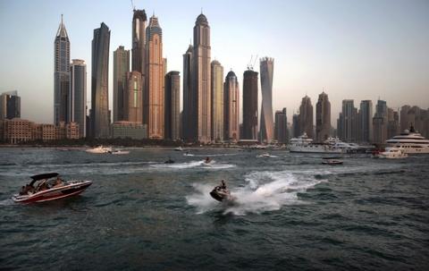 Hinh anh cho thay Dubai xung danh 'Manhattan vung Trung Dong' hinh anh 9