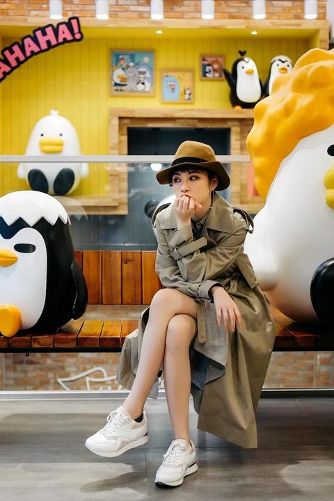 5 ngay dao pho moi chan cua Angela Phuong Trinh o Seoul hinh anh 10