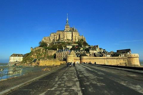 Mont Saint Michel, bieu tuong co kinh cua nuoc Phap hinh anh