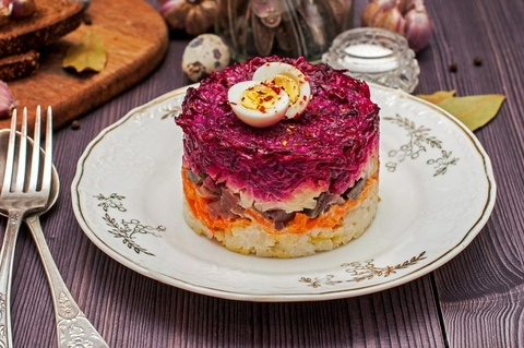 9 loai salad Nga de lam, ngon mieng va nhieu duong chat hinh anh 4