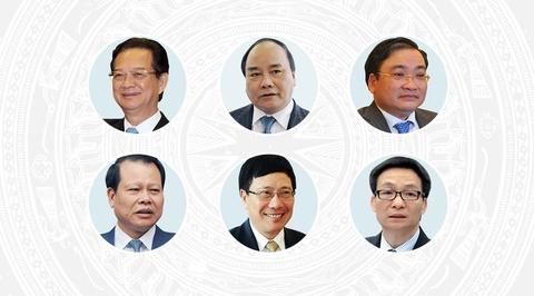 27 thanh vien Chinh phu cua Thu tuong Nguyen Tan Dung hinh anh