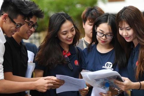 Bo GD&DT chot phuong an thi THPT quoc gia nam 2018 hinh anh