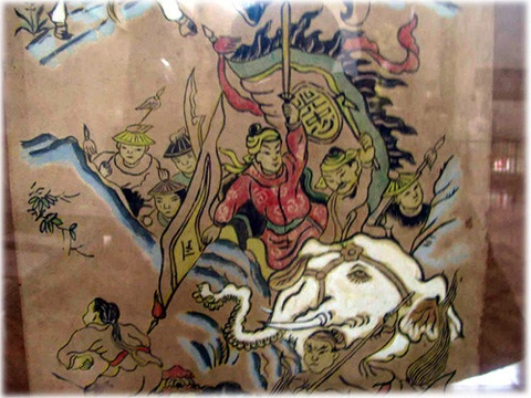 Vo Van Dung - ho tuong so mot cua vua Quang Trung hinh anh