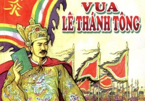 Vua Le Thanh Tong va nhung doc chieu tri quan tham hinh anh