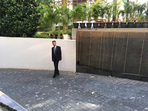 Doan xe cho ong Kim Jong Un ve khach san o Singapore hinh anh 15