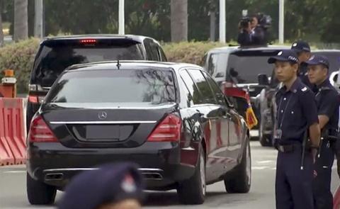 Doan xe cho ong Kim Jong Un ve khach san o Singapore hinh anh 8