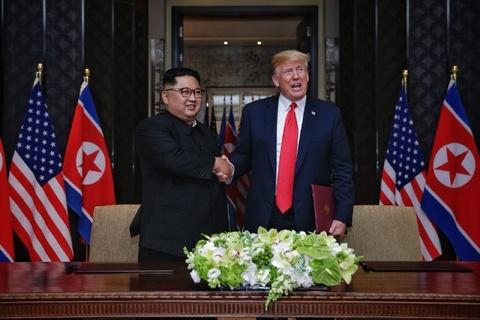 TT Trump: Ong Kim dong y phi hat nhan hoan toan ban dao Trieu Tien hinh anh